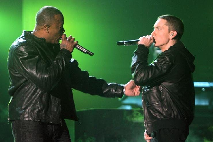 1499607434 d8a48ee2f7f39140a04f75dc81b9a91b Dr. Dre Reportedly Working On A Track For New Eminem Album
