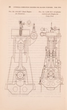 Plate from 'Internal-Combustion Engines for Marine Purposes', 1914