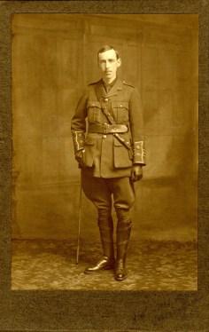 Robert Leiper in uniform