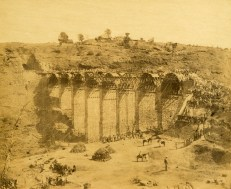 Bhore Ghat Railway: Mhow-ke-Mullee Viaduct, 3,000 men employed, Khumnee Hill, mouth of Tunnel no 11, at 4 3/4 miles.