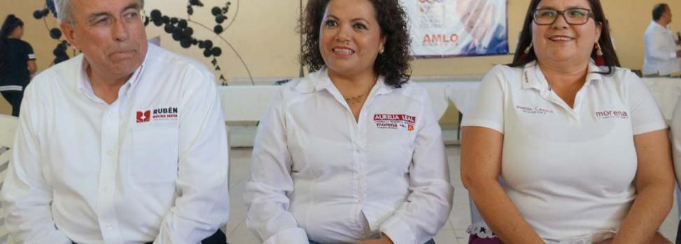 'AMLO es la opción impostergable para detener la violencia que desgarra al país': Imelda Castro