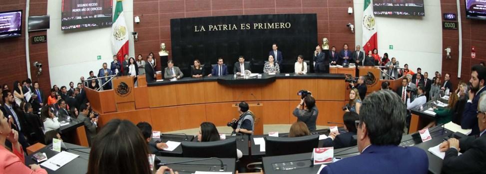 Cumpliré con dignidad y a favor de México desde la Comisión Permanente del Congreso de la Unión