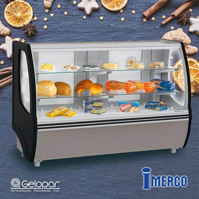 Exhibidor No Refrigerado MVSP-140-PR GELOPAR