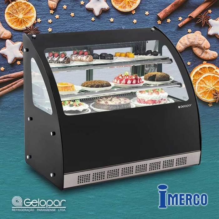 Exhibidor Refrigerado GGEB-110 GELOPAR
