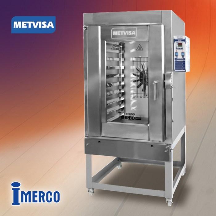 Horno Turbo a Gas FTG-300 METVISA