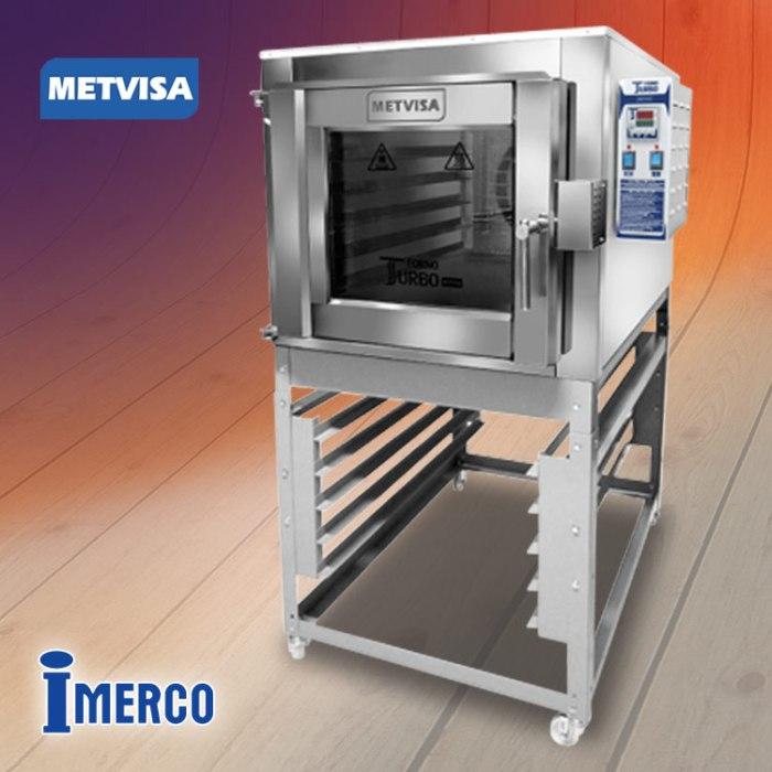 Horno Turbo Eléctrico FTE-150 METVISA