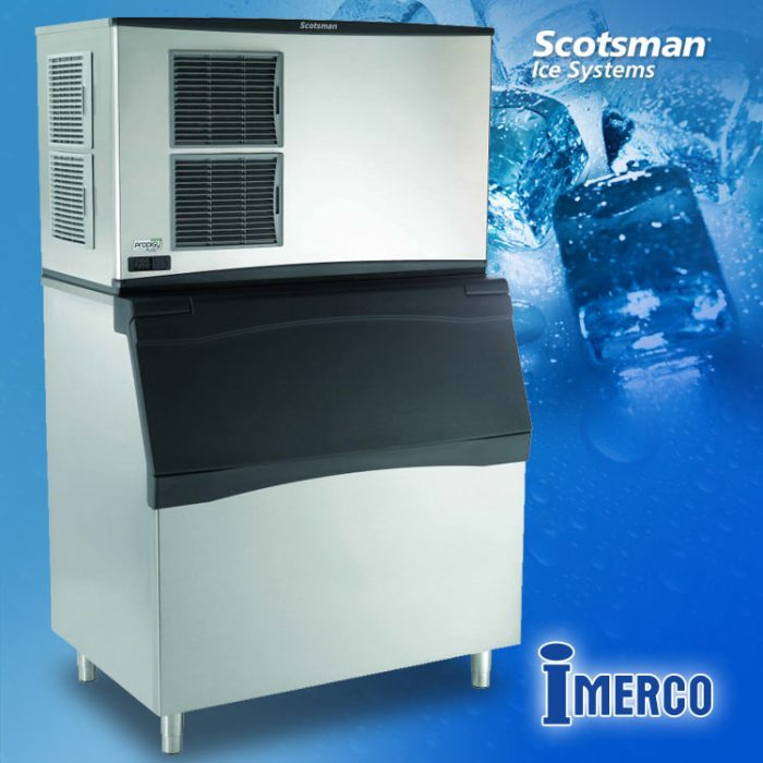 Máquina para Hacer Hielo Cubitos C-1848-MA SCOTSMAN