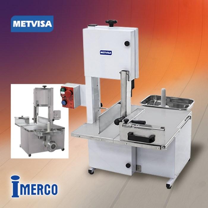 Sierra para Carnes con Molino SFP-8 METVISA