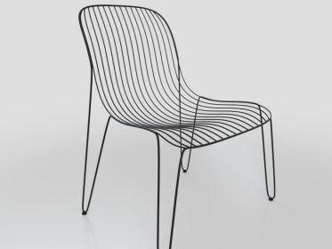 SC-0007 Wire Frame Chair