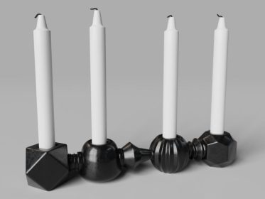 DE-0006 Candle Holder View1