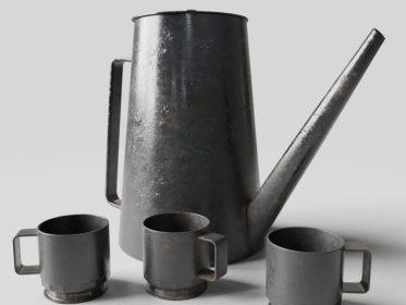 KA-0024 Industiral Tea Set View1