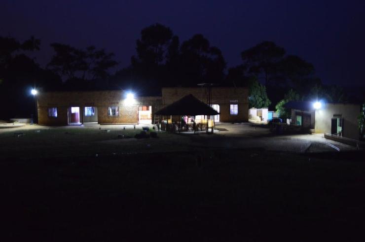 Solar panels light