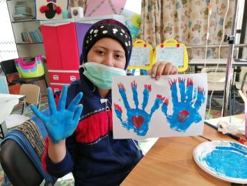 Art Therapy for Children with Cancer 1-2020 3