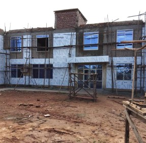 Construction of Phase 3 Herona Hospital Nears Completion 1