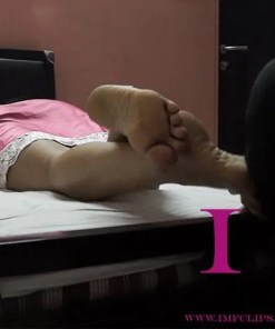 intimate foot worship