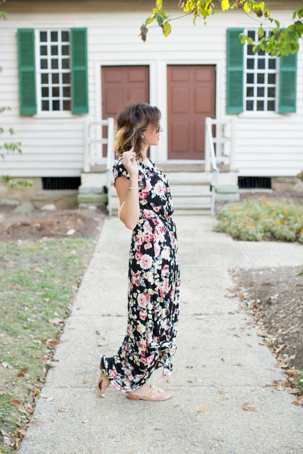 The Flourish Market Maxi Dress