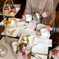 A Ladies' Afternoon Tea at Fearrington House Inn