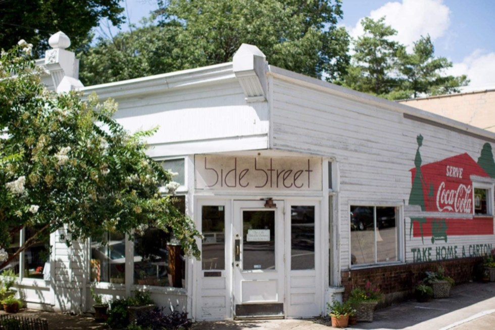 The Ultimate Girls' Day Out in Raleigh - I'm Fixin' To - @imfixintoblog | Girls Day Out In Raleigh by popular NC lifestyle blog, I'm Fixin' To: image of Side Street restaurant.