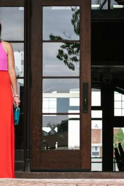A Color Block Maxi for Summer Weddings - I'm Fixin' To - @mbg0112
