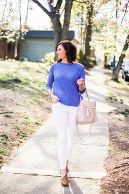 8 Ways to Style White Denim - I'm Fixin' To - @mbg0112