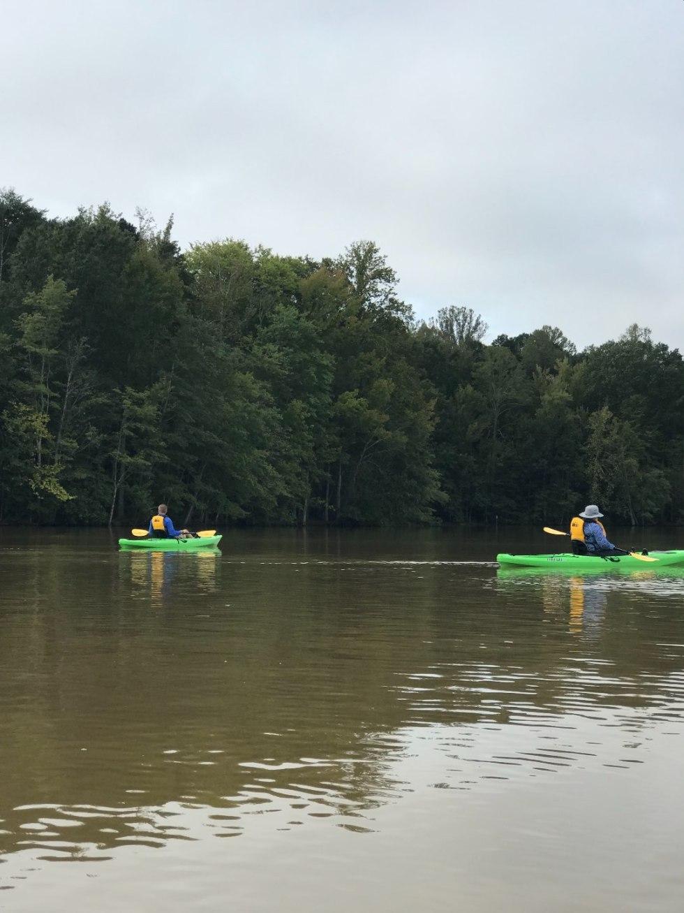 North Carolina Favorite: Kayaking Lake Brandt with REI - I'm Fixin' To - @mbg0112