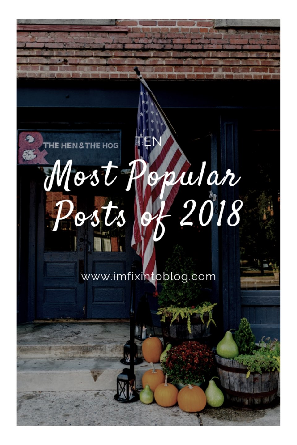 Top 10 most popular posts of 2018 featured by top North Carolina life and style blog, I'm Fixin' To