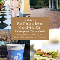 Fun Things to Do in Chapel Hill, NC