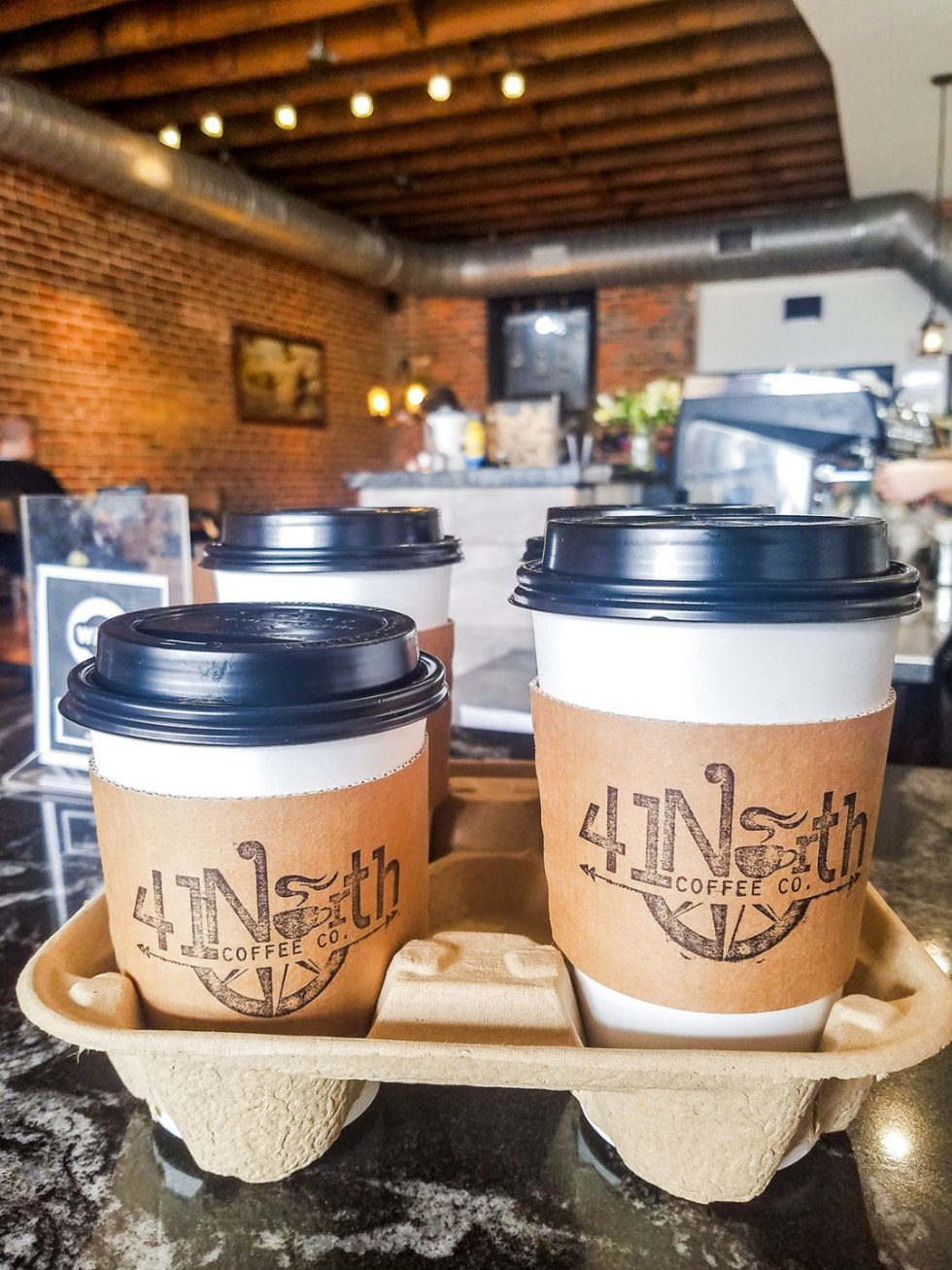 Top 15 Coffee Shops in Raleigh, NC - I'm Fixin' To - @mbg0112 | Best Coffee Shops in Raleigh NC featured by top NC blog, I'm Fixin' To: 41 Coffee Co