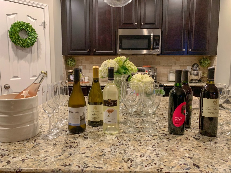 How to Host your Own Wine Tasting Party with NC Wines, featured by top US lifestyle blog, I'm Fixin' To