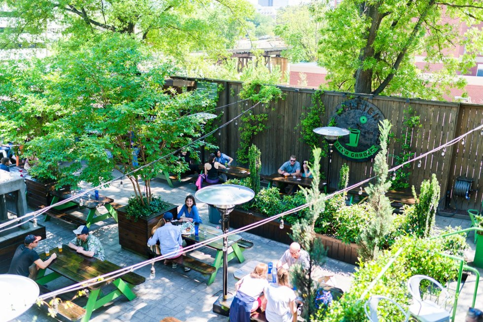16 Can't-Miss Patios in Raleigh - I'm Fixin' To - @mbg0112     Best spots for patio dining in downtown Raleigh featured by top North Carolina blog, I'm Fixin' To: Raleigh Beer Garden