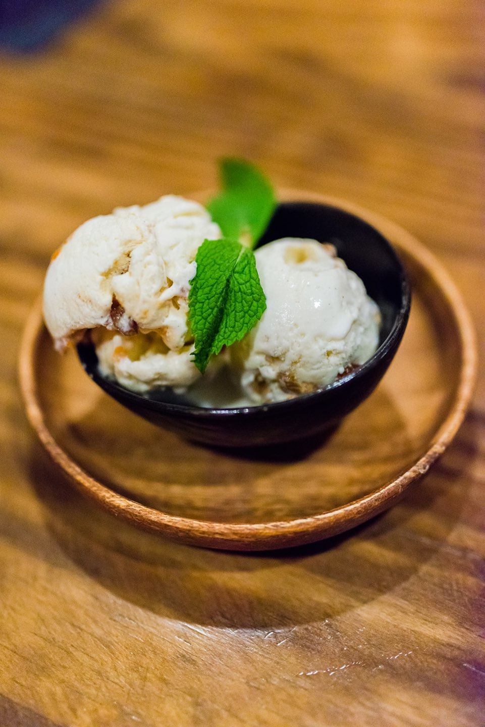 Top 5 Best Destination Restaurants in Eastern NC you Need to Try - I'm Fixin' To - @mbg0112 | Top 5 Best Destination Restaurants in Eastern NC you Need to Try by popular North Carolina blog, I'm Fixin' To: image of a bowl of ice cream at The Hen and the Hog.