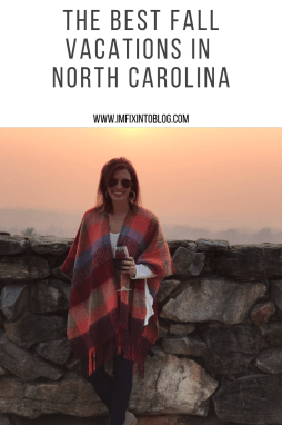 Top 5 Best Fall Vacations in North Carolina - I'm Fixin' To - @mbg0112