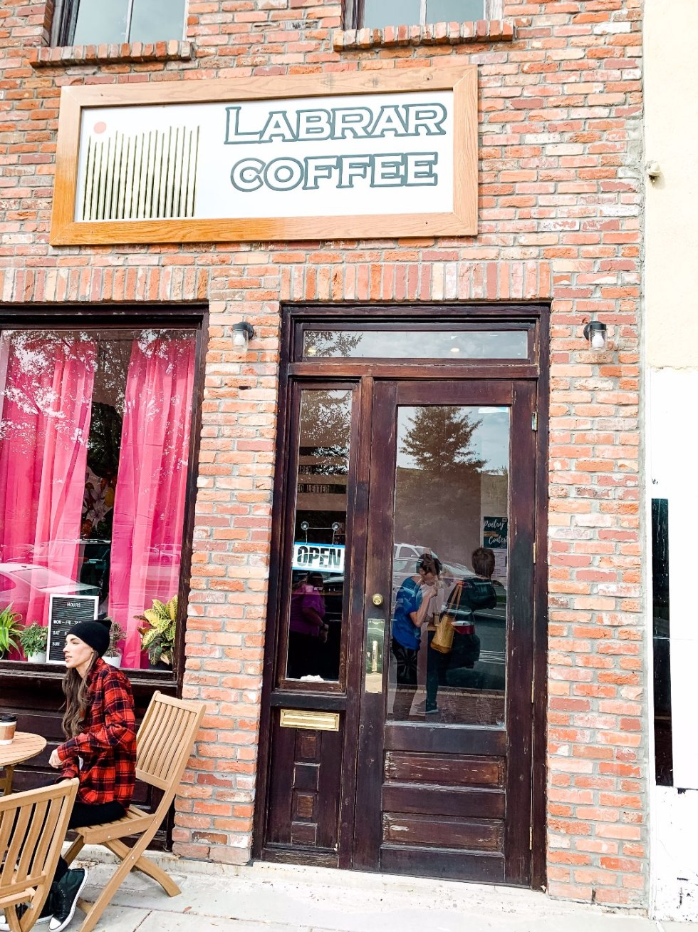 Eastern North Carolina Travel Guide: Top 10 Things to Do in Goldsboro NC by popular North Carolina blog, I'm Fixin' To: image of Labrar Coffee.