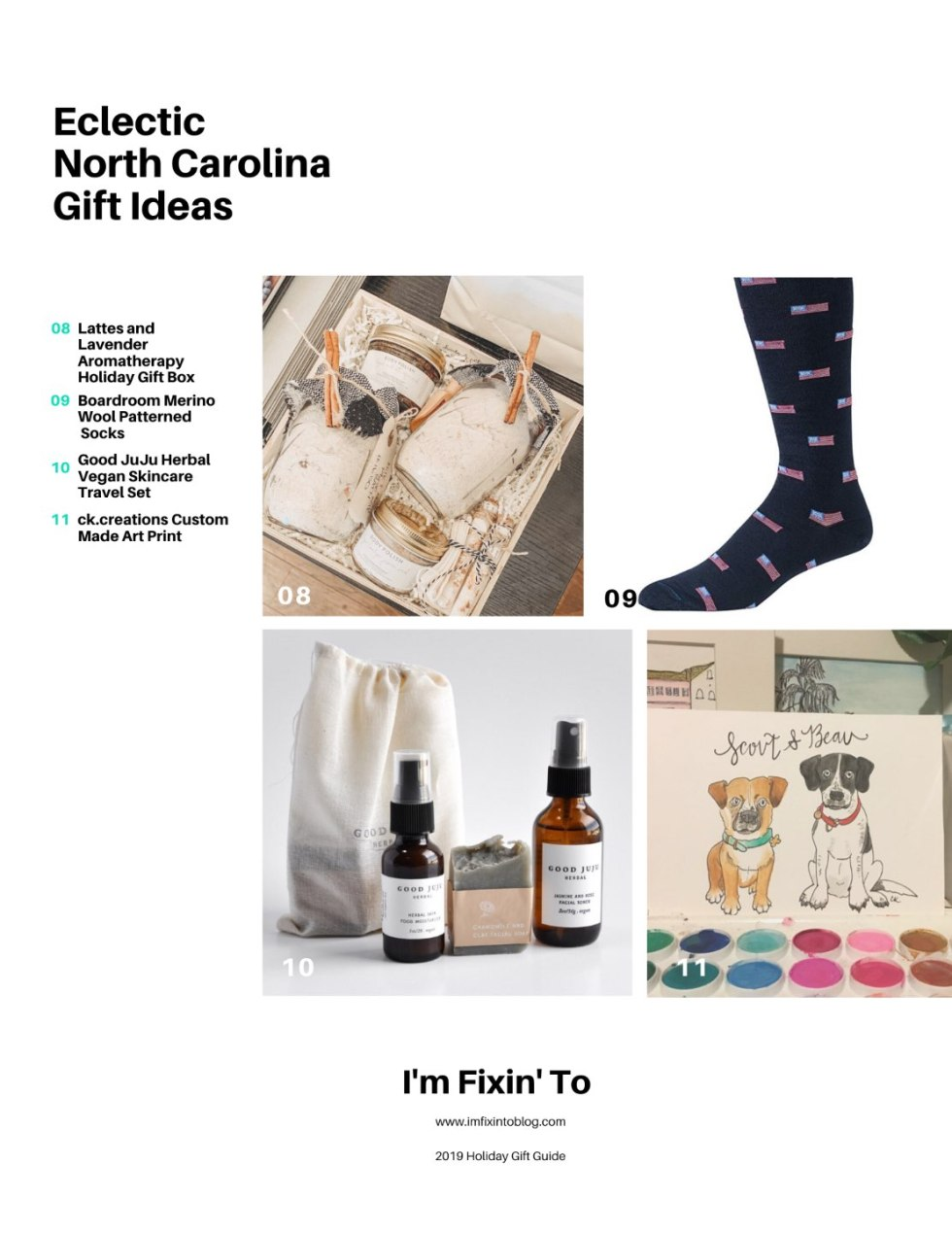21 Unique North Carolina Gifts featured by top North Carolina blog, I'm Fixin' To