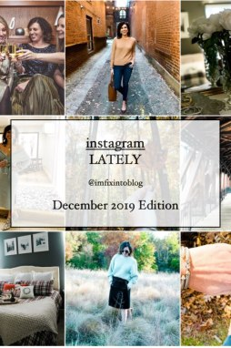 Welcome December + November 2019 Instagram Fashion Roundup - I'm Fixin' To - @mbg0112