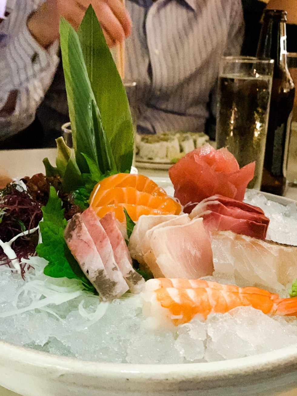 Warming Up in the Bahamas: the Best Things to Do at Baha Mar - I'm Fixin' To - @mbg0112 | Warming Up in the Bahamas: the Best Things to Do in Baha Mar by popular North Carolina travel blog, I'm Fixin' To: image of sashimi.