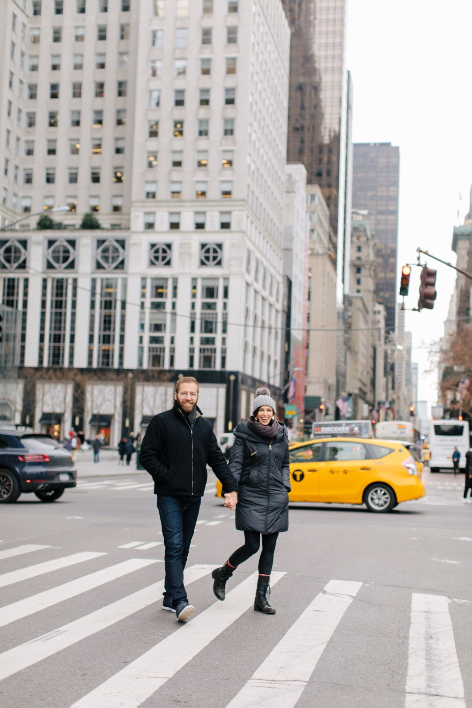 Birthday Reflections: 32 Powerful Lessons I Learned in the Past Year - I'm Fixin' To - @mbg0112 | Birthday Reflections: 32 Powerful Lessons I Learned in the Past Year by popular North Carolina life and style blog, I'm Fixin' To: image of a couple in New York City.