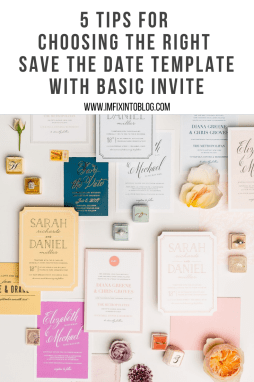 5 Tips for Choosing the Right Save the Date Template - I'm Fixin' To - @mbg0112