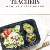The Empowered Women Series: On the Go Lunch Ideas for Teachers with Kayte Fry