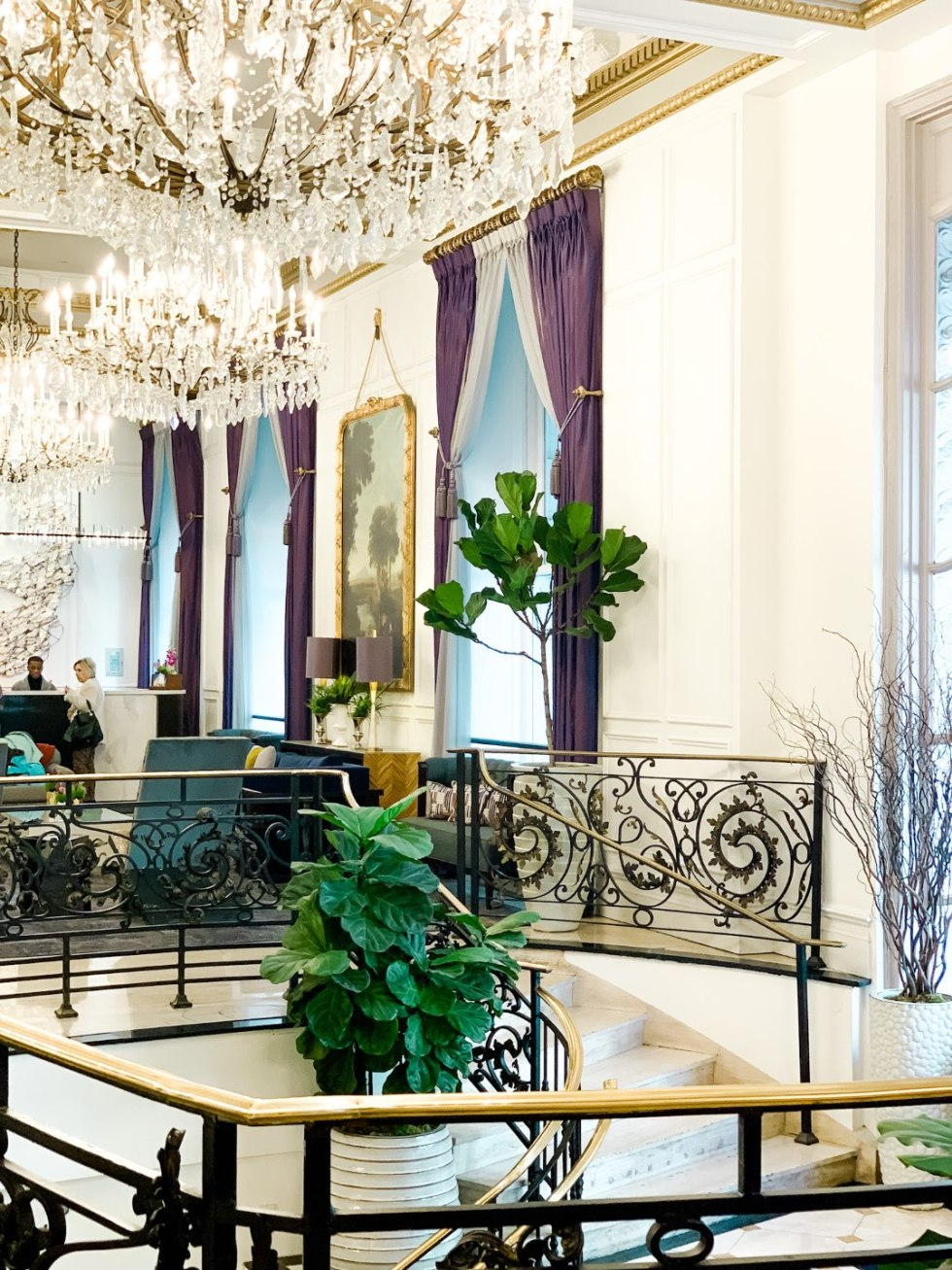 A Girls Trip to New Orleans: All the Info you Need to Prepare! - I'm Fixin' To - @mbg0112 | Girls Trip to New Orleans by popular US travel blog, I'm Fixin To: image of Le Pavillon.