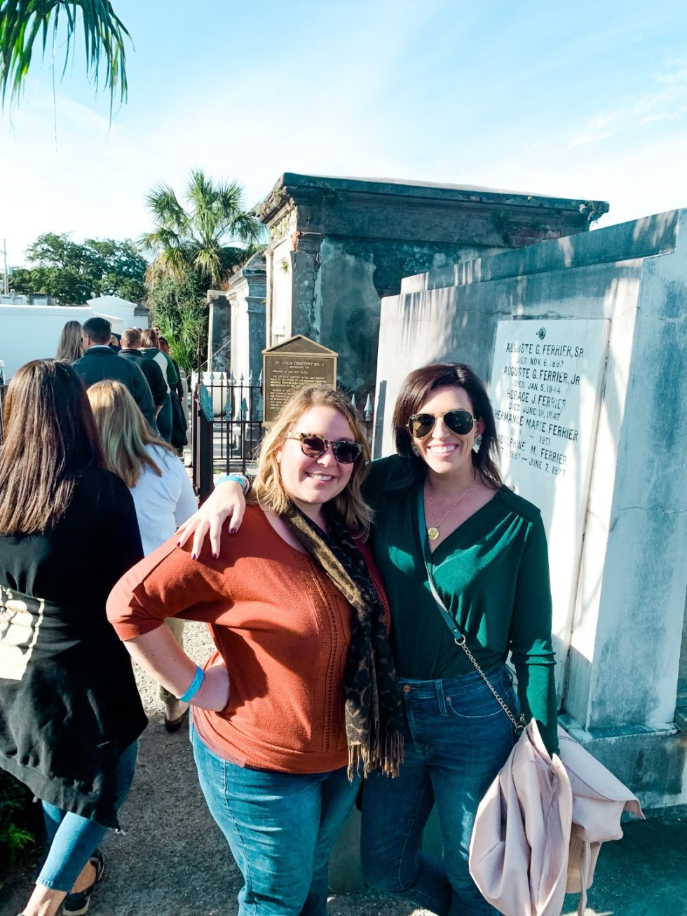 A Girls Trip to New Orleans: All the Info you Need to Prepare! - I'm Fixin' To - @mbg0112 | Girls Trip to New Orleans by popular US travel blog, I'm Fixin To: image of St. Louis #1 Cemetery.