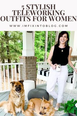 5 Stylish Teleworking Outfits for Women - I'm Fixin' To - @mbg0112