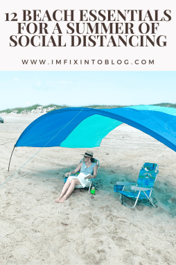 12 Beach Essentials for a Summer of Social Distancing - I'm Fixin' To - @mbg0112