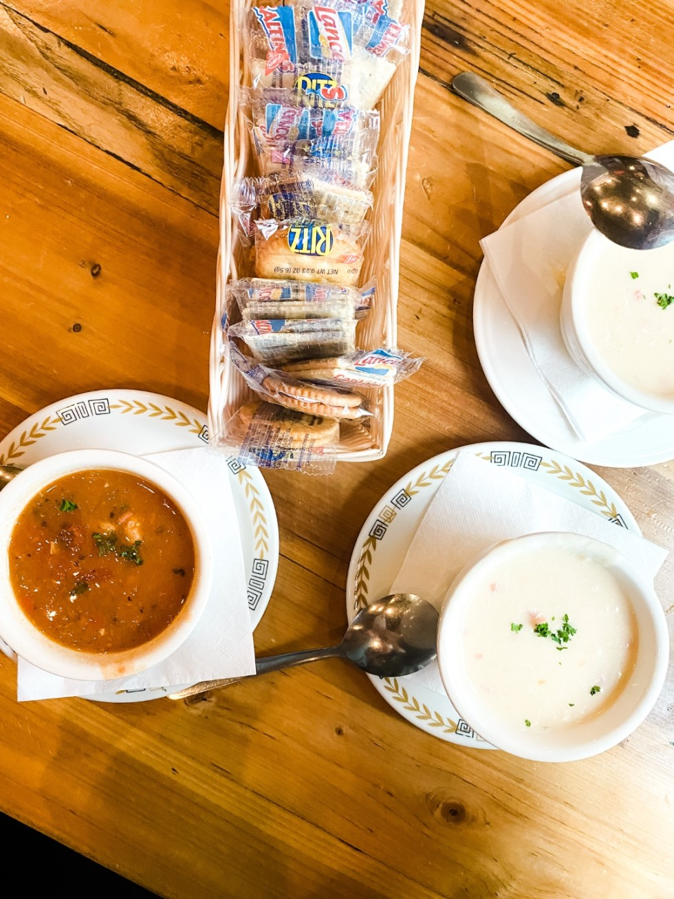 Western NC Wineries: 6 Wineries to Visit During your Next Girls' Weekend - I'm Fixin' To - @mbg0112 |Western NC Wineries by popular NC blog, I'm Fixin' To: image of soup at Southern on Main.