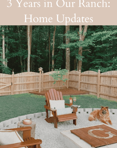 3 Years in Our Ranch: Home Updates - I'm Fixin' To - @imfixintoblog