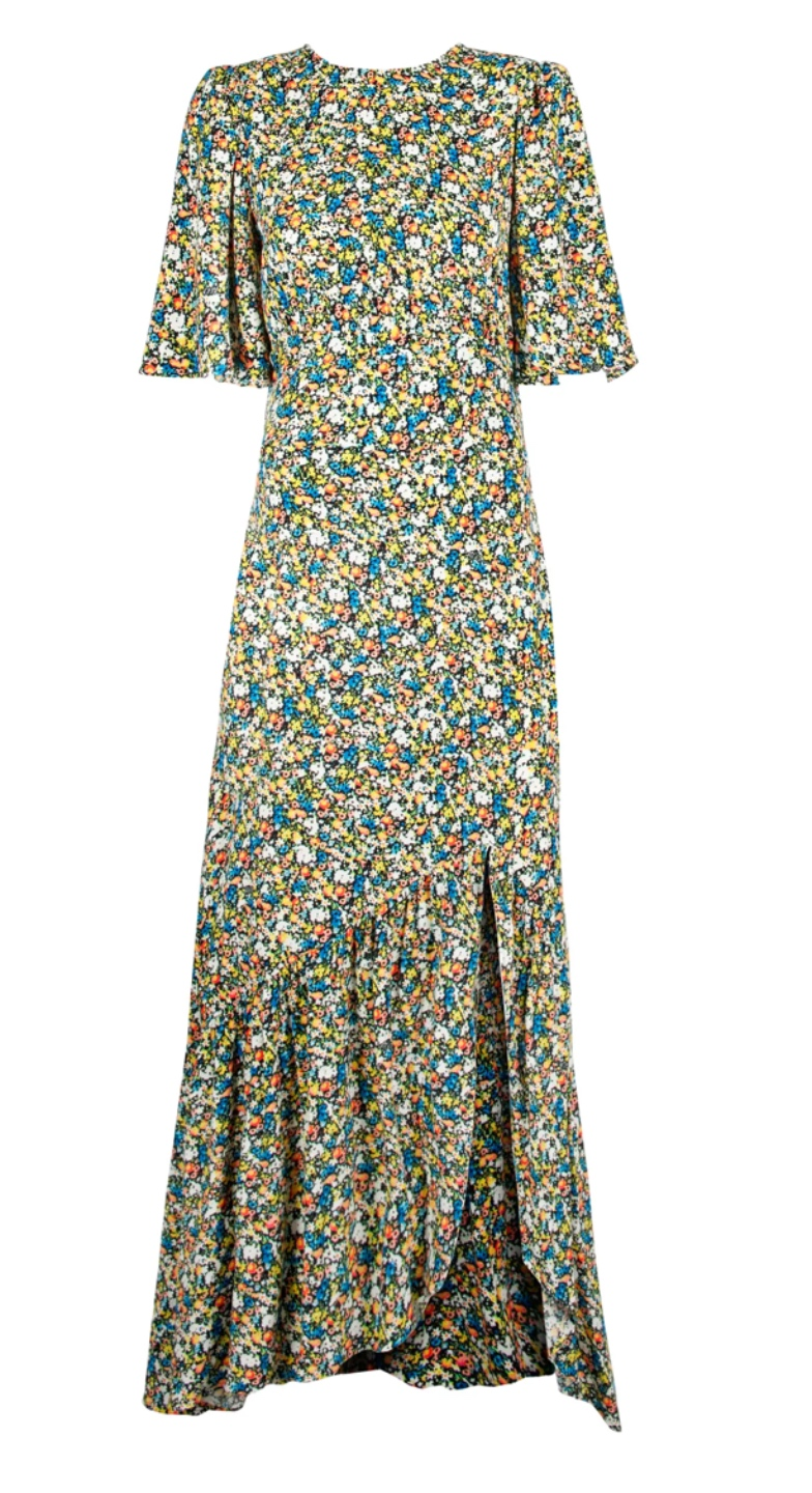 What I'm Eyeing for Early Spring - I'm Fixin' To - @imfixintoblog | Early Spring Fashion by popular NC fashion blog, I'm Fixin' To: image of a AFRM Pico Floral Open Back Dress.