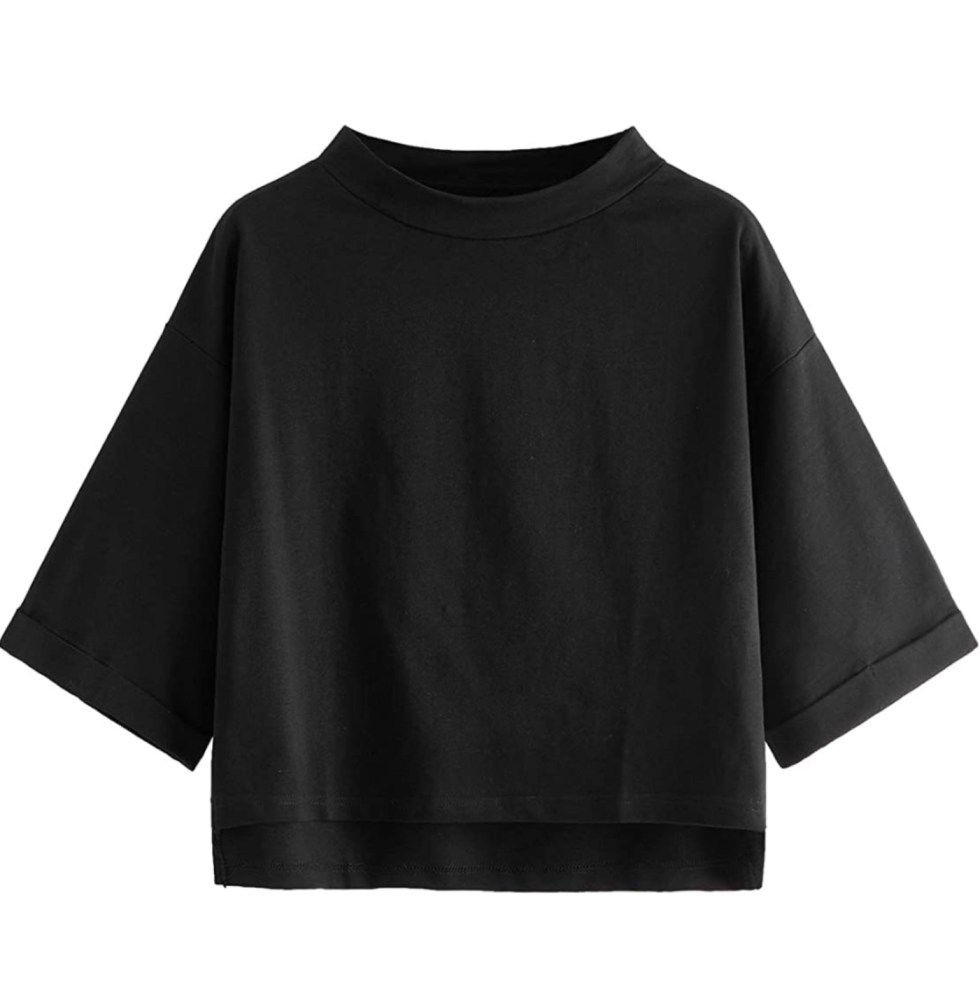 What I'm Eyeing for Early Spring - I'm Fixin' To - @imfixintoblog |Early Spring Fashion by popular NC fashion blog, I'm Fixin' To: image of a Amazon boat neck crop top shirt.
