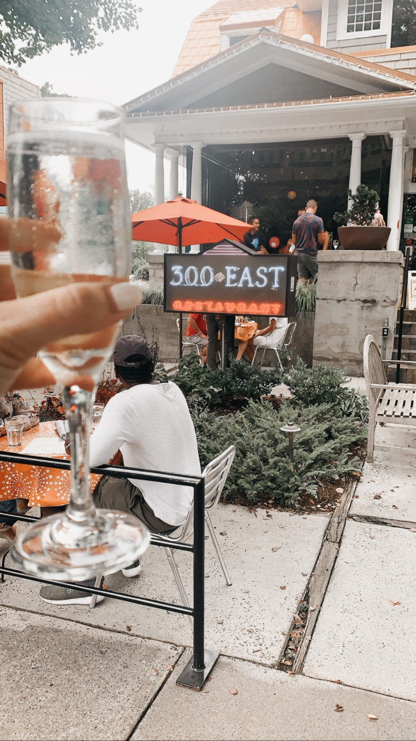Top 7 Best Patios in Charlotte, NC featured by top NC lifestyle blogger, I'm Fixin' To: 300 East