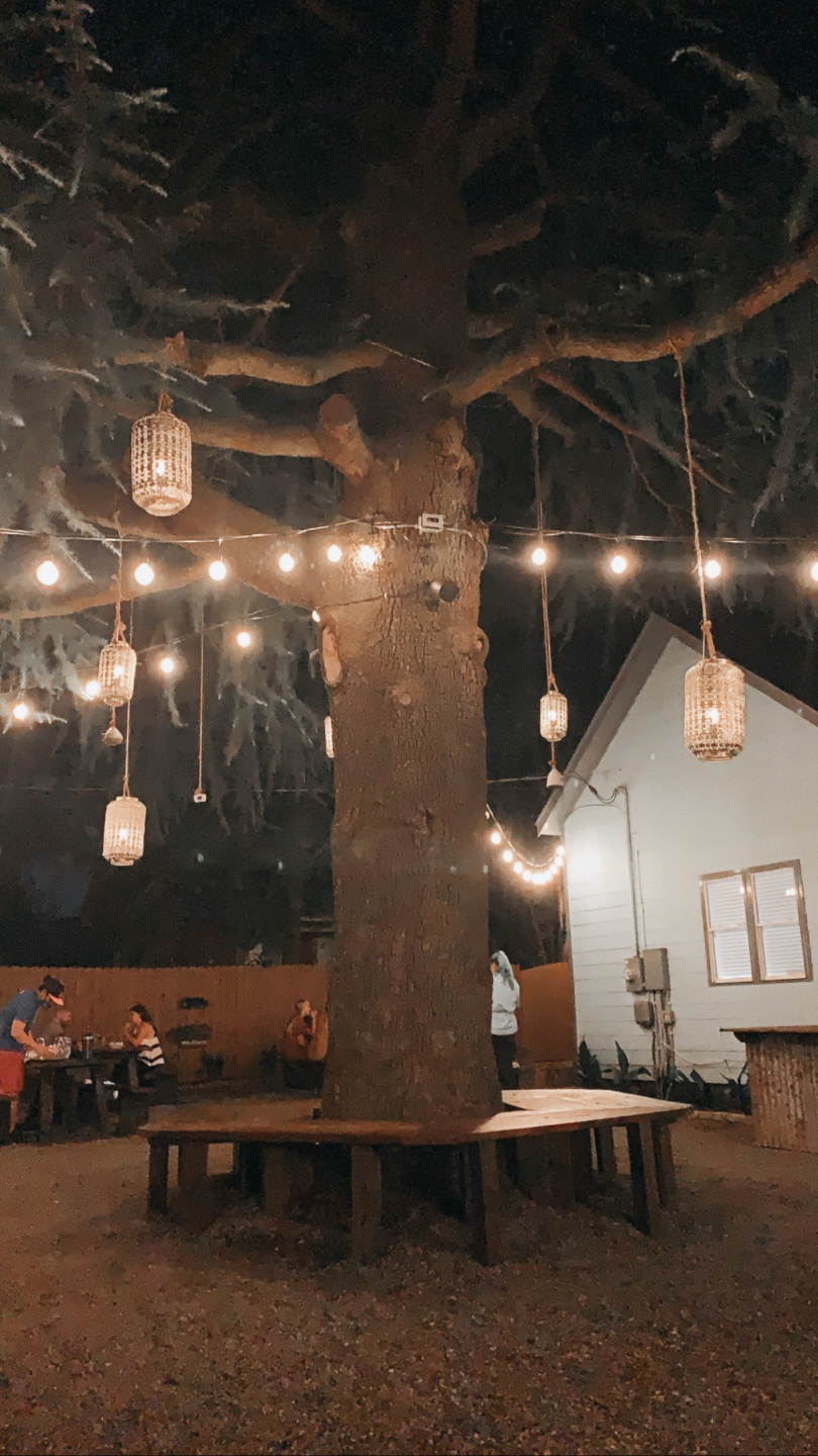 Top 7 Best Patios in Charlotte, NC featured by top NC lifestyle blogger, I'm Fixin' To: The Goodyear House