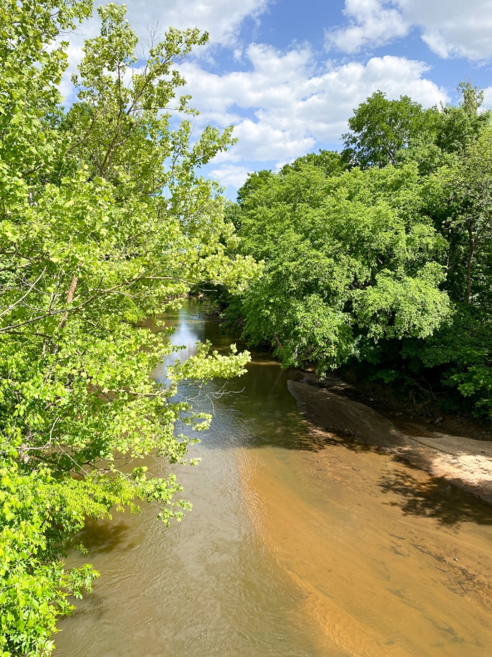 An Afternoon Trip to Franklin County, NC - I'm Fixin' To - @imfixintoblog | Franklin County NC by popular North Carolina travel blog, I'm Fixin' To: image of a river.